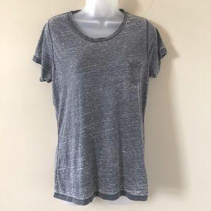 Soft, lightweight grey T-shirt